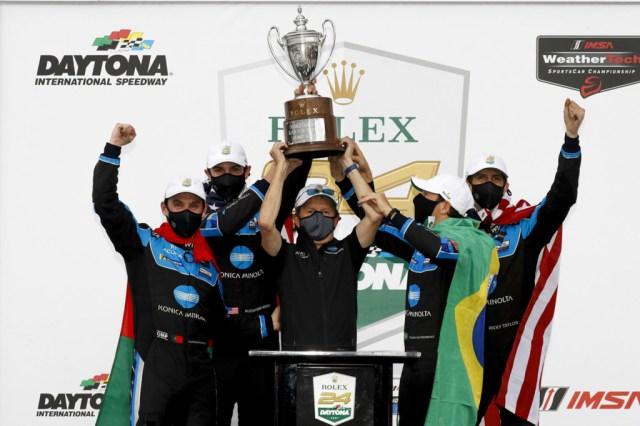 No. 10 Wayne Taylor Racing Acura ARX-05 DPi at the 2021 24 Hours of Daytona