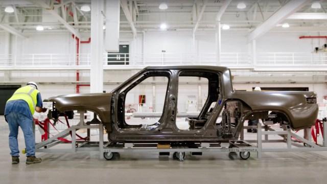 Rivian R1T pre-production