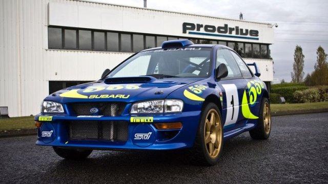 1996 Subaru Impreza WRC97