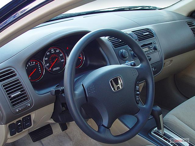 Image 2003 Honda Civic 2 Door Coupe EX Auto Dashboard