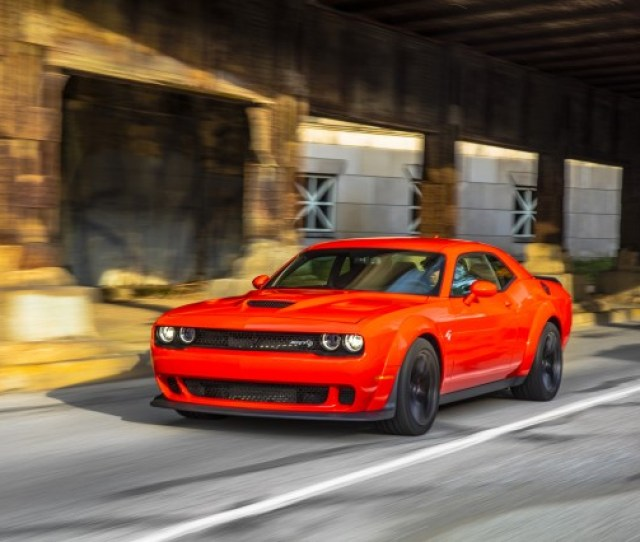 Dodge Challenger Srt Hellcat Widebody First Drive Review Big Looks Incremental Improvements