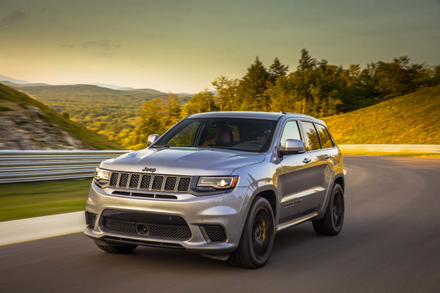 2018 Jeep Grand Cherokee Trackhawk First Drive The Most Expensive