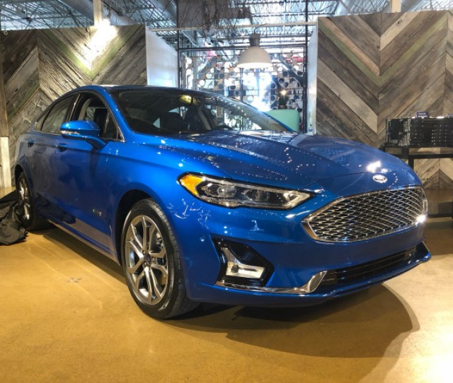 Ford Fusion Energi Plug In Hybrid Gets  Miles From Revised Battery