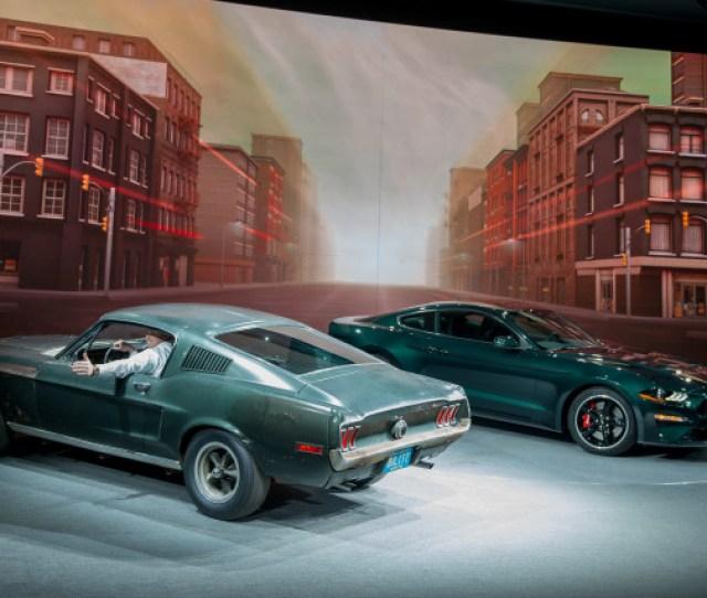 Ford Mustang Bullitt  Detroit Auto Show