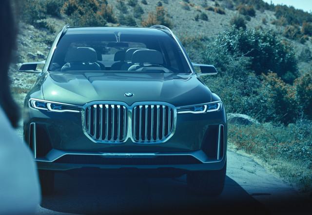 BMW X7 iPerformance concept, 2017 Frankfurt auto show