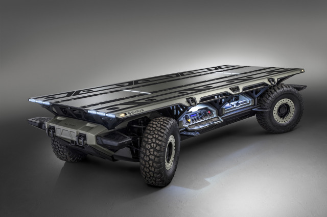 General Motors' Silent Utility Rover Universal Superstructure (SURUS)