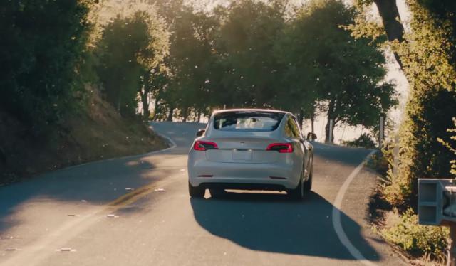 Tesla-Modell 3 von 2018