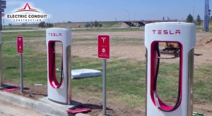 What It Takes To Build A Tesla Supercharger DC Fast