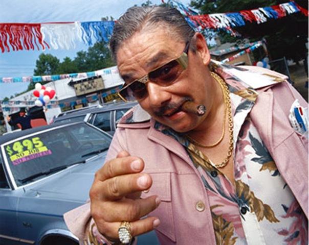 Used car salesman