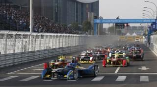 Formula E race in Beijing, China