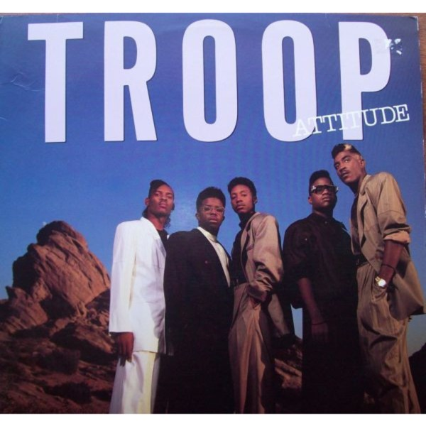 Troop - Attitude - Vinyl LP - 1989 - US - Original | HHV