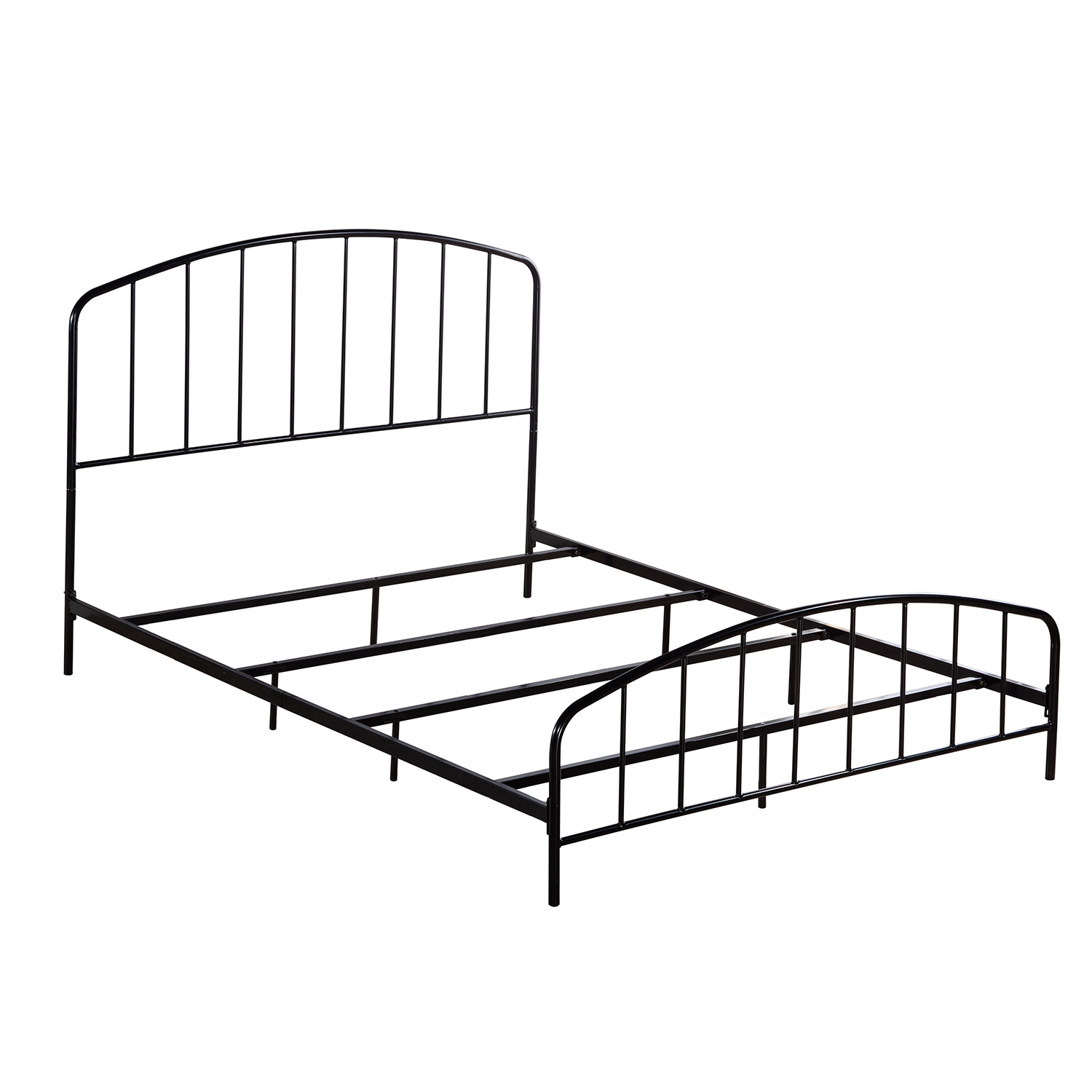 Hillsdale Tolland Metal Bed With Arched Spindle Design