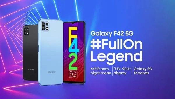 Samsung Galaxy F42 5G : আদতে দাম ২৩,৯৯৯ টাকা। ফ্লিপকার্ট 'বিগ বিলিয়ন ডে'জ' সেলে ১৭,৯৯৯ টাকায় কেনা যাবে। (ছবি সৌজন্য ফেসবুক)