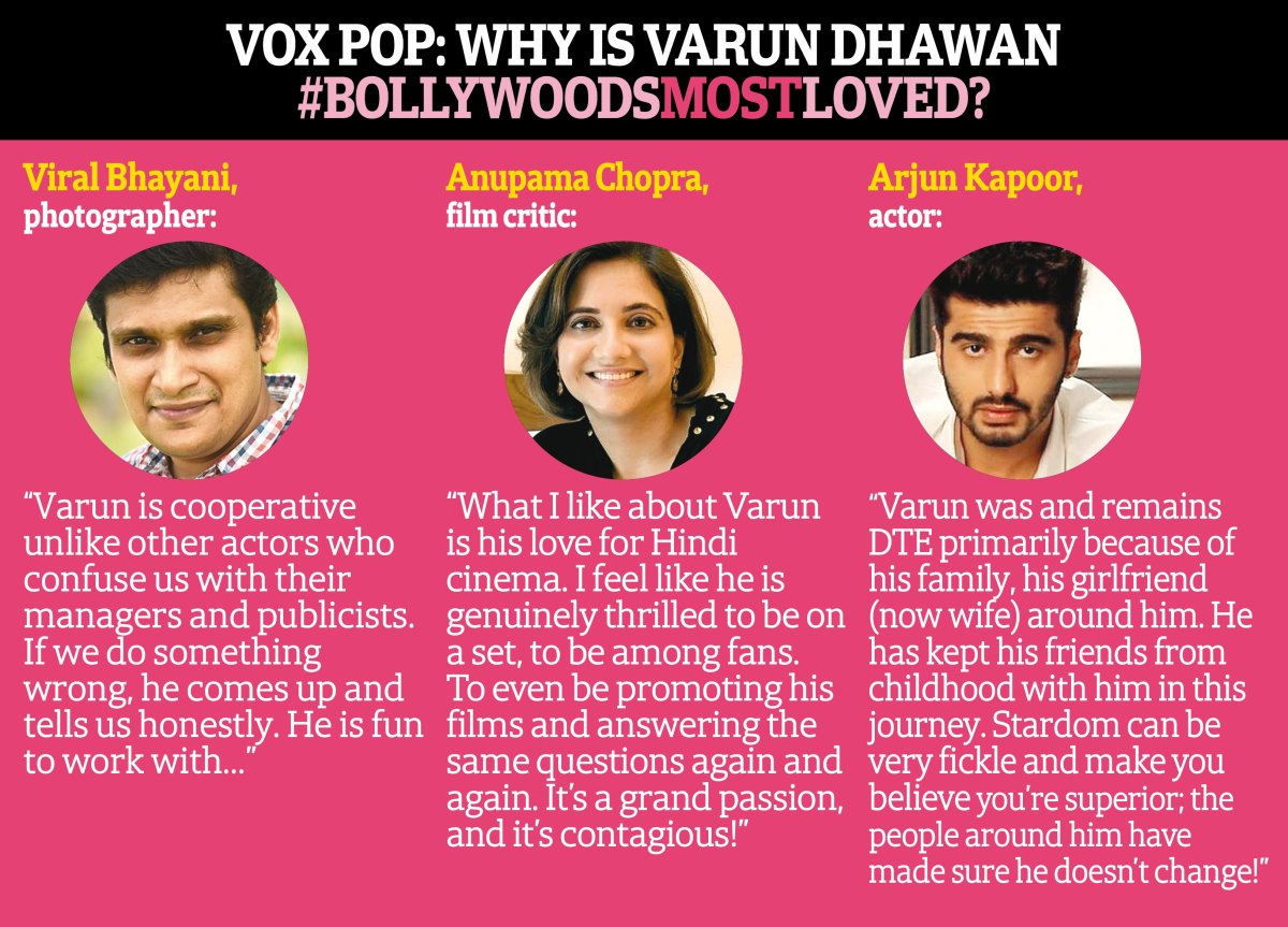 Why we all can't help but love Varun Dhawan!