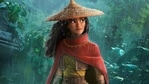 Raya and the Last Dragon movie review: Raya, voiced by Kelly Marie Tran, in a still from the new Disney film.