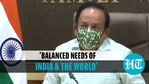 Dr Harsh Vardhan informed that 64 million doses of the Covid-19 vaccine have been given to 84 countries