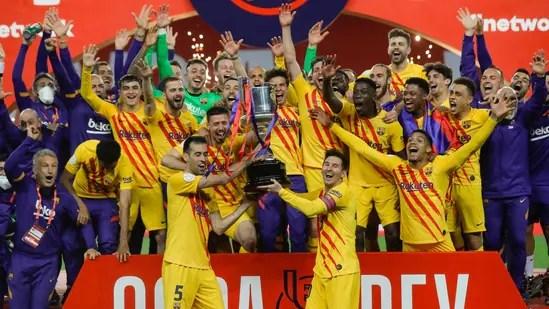 Messi nets 2, Barcelona beats Bilbao 4-0 to win Copa del Rey | Hindustan Times