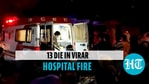 At least 13 Covid-19 patients killed in fire at ICU of Maharashtra hospital