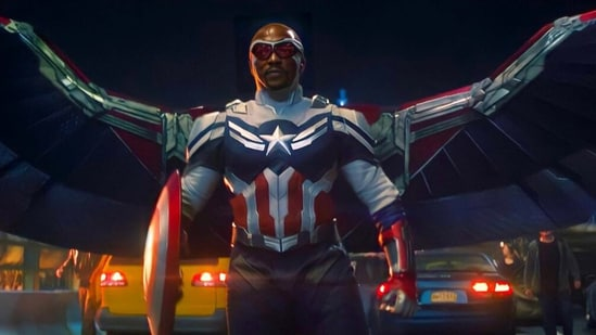Captain America Shield Sam Wilson Marvel fans embrace The Falcon and The  Winter Soldier's new Cap