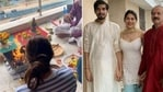 Nikki Tamboli has organised a puja at her home for her brother Jatin Tamboli.