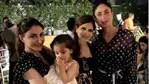 Saba Ali Khan with Kareena Kapoor, Soha Ali Khan and Inaaya Naumi Kemmu.