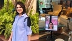 Neetu Kapoor shares a picture of her video chat with daughter Riddhima Kapoor Sahni and gives a glimpse of her home.