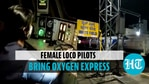Oxygen Express piloted by 'all female crew' arrives in Bengaluru