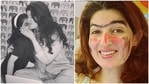 Twinkle Khanna shared a picture of the work done on her face by daughter Nitara.