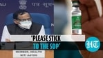 Centre said that mixing Covid vaccines is not a protocol till further update