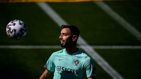 Portugal's midfielder Bruno (Twitter)