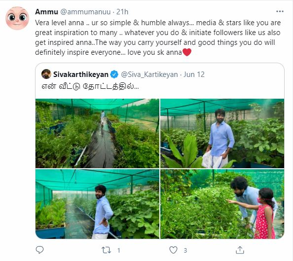 Many fans hope Sivakarthikeyan's initiative would inspire others to follow suit.