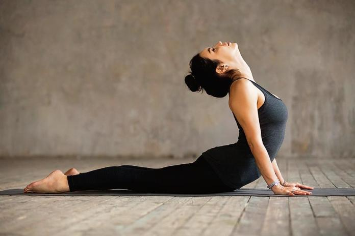 One of the best yoga mudras for glowing skin is cobra pose