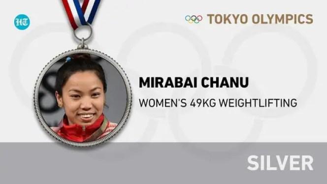 Tokyo Olympics Live Updates Day 1: Mirabai Chanu wins silver medal in Weightlifting; Mukherjee, Manika through to R2 | Hindustan Times