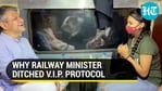 Rail minister Ashwini Vaishnaw rolls up his sleeve; takes feedback from passengers during train ride