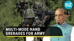 Indian Army gets new hand grenades made by private firm