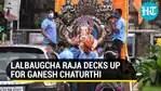 Mumbai gears up for Ganesh Chaturthi, preparations in full-swing at Lalbaugcha Raja pandal