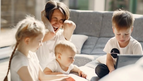 """Follow a properly set routine. It is not at all a good idea to just switch from one activity to another, abruptly. The children may get frustrated, bored, and stressed and refuse to participate. """"Helicopter parenting can be annoying for children. Telling them constantly what to do and not do can be annoying. This can lead to bad behavior in toddlers. Let them be at ease,"""" says Dr Kathwate.(Pexels)"""