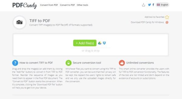 Top 7 Best TIFF to PDF Converter Online | HiPDF