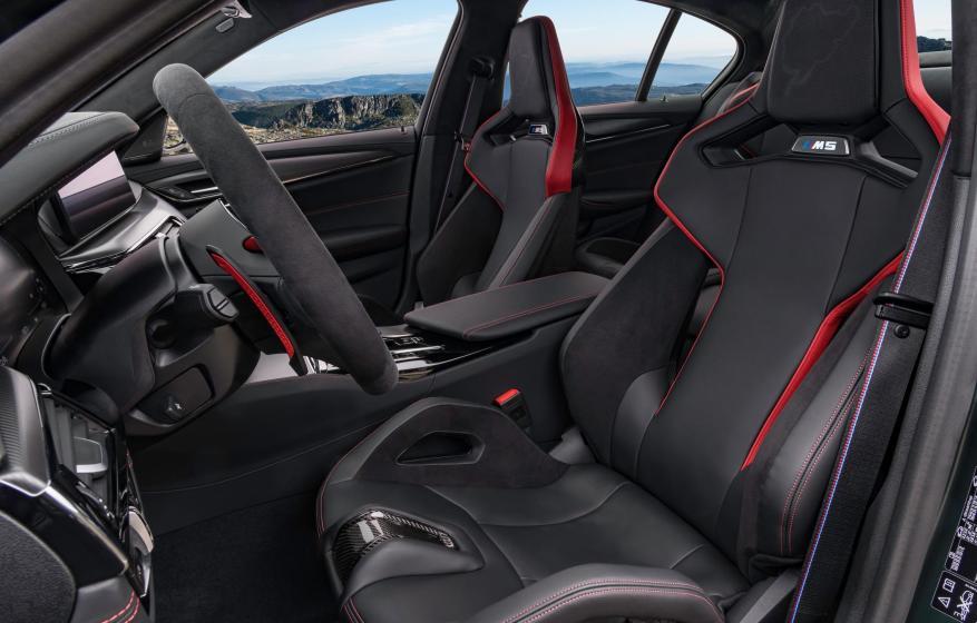 BMW M5 CS Interior