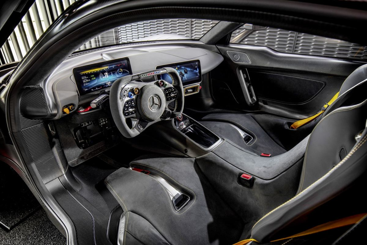 AMG One interior