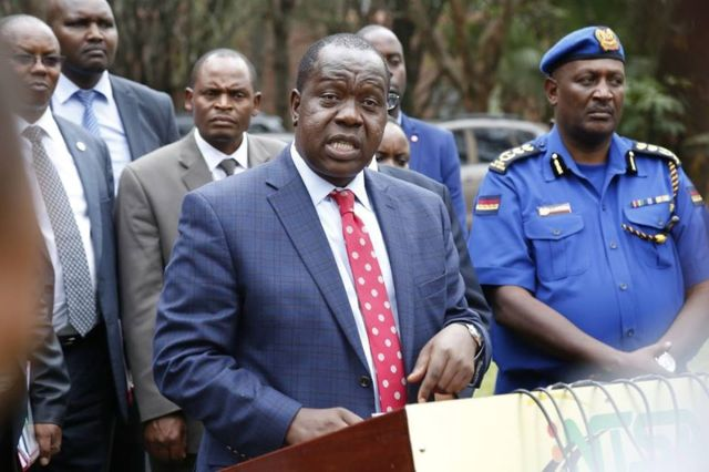 Image result for Matiang'i with Cheruiyot