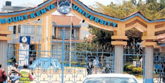 Mount Kenya University makes urgent clarification on official ...