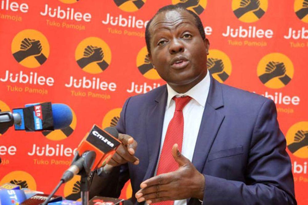 Jubilee disowns Murkomen