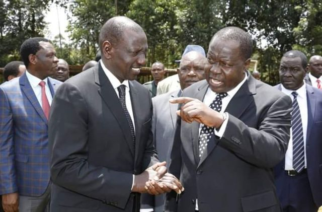 Image result for Ruto and Matiang'i