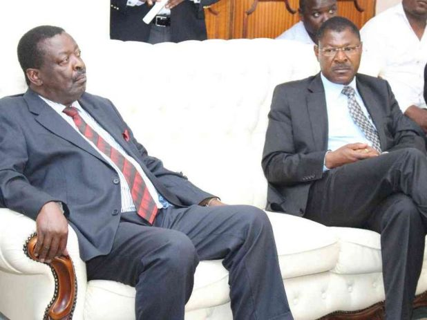 Mudavadi, Wetangula dared to form one party