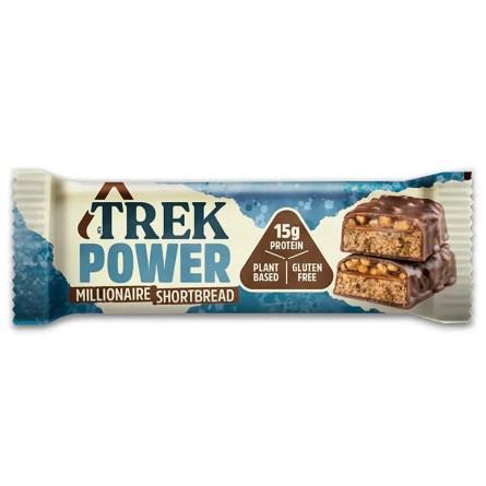 Trek Power Millionaire Shortbread Protein Bar 55g