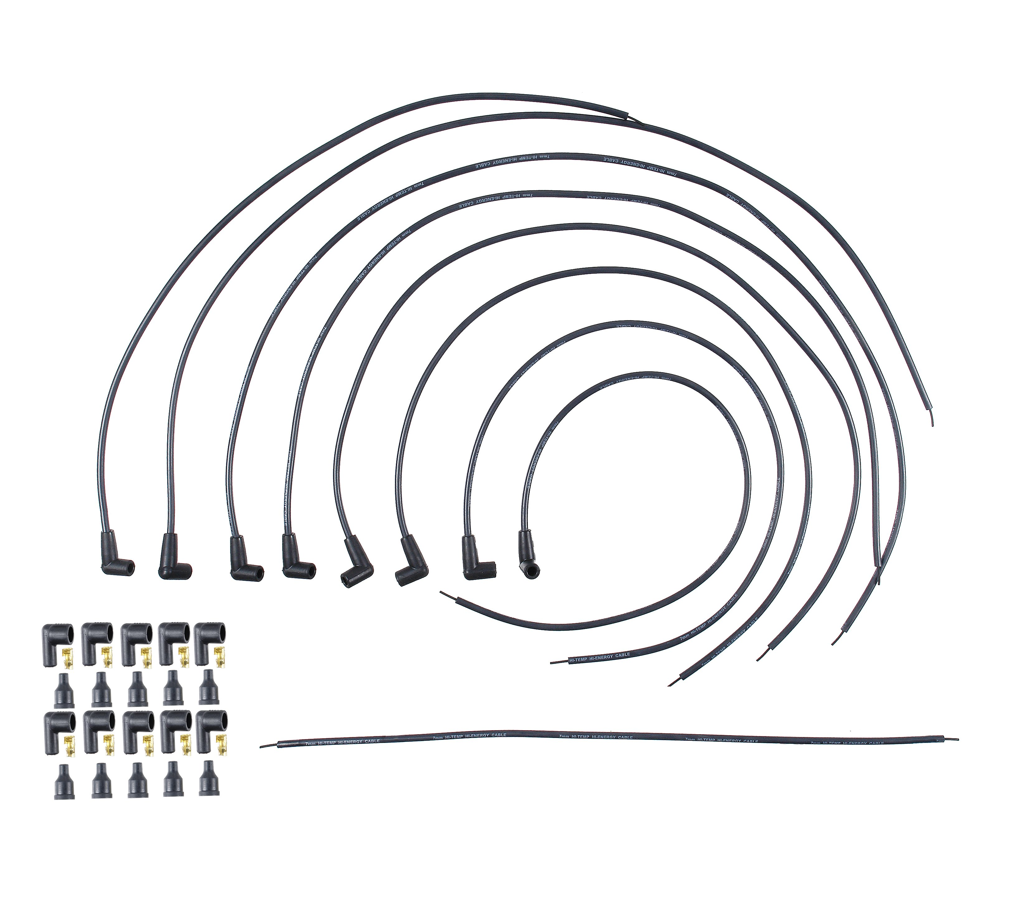 Proconnect Universal Spark Plug Wire Sets