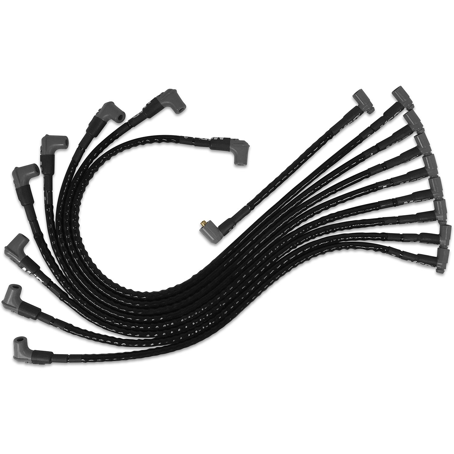 Msd Sleeved Spark Plug Wires For Sbc Under Exhaust Hei