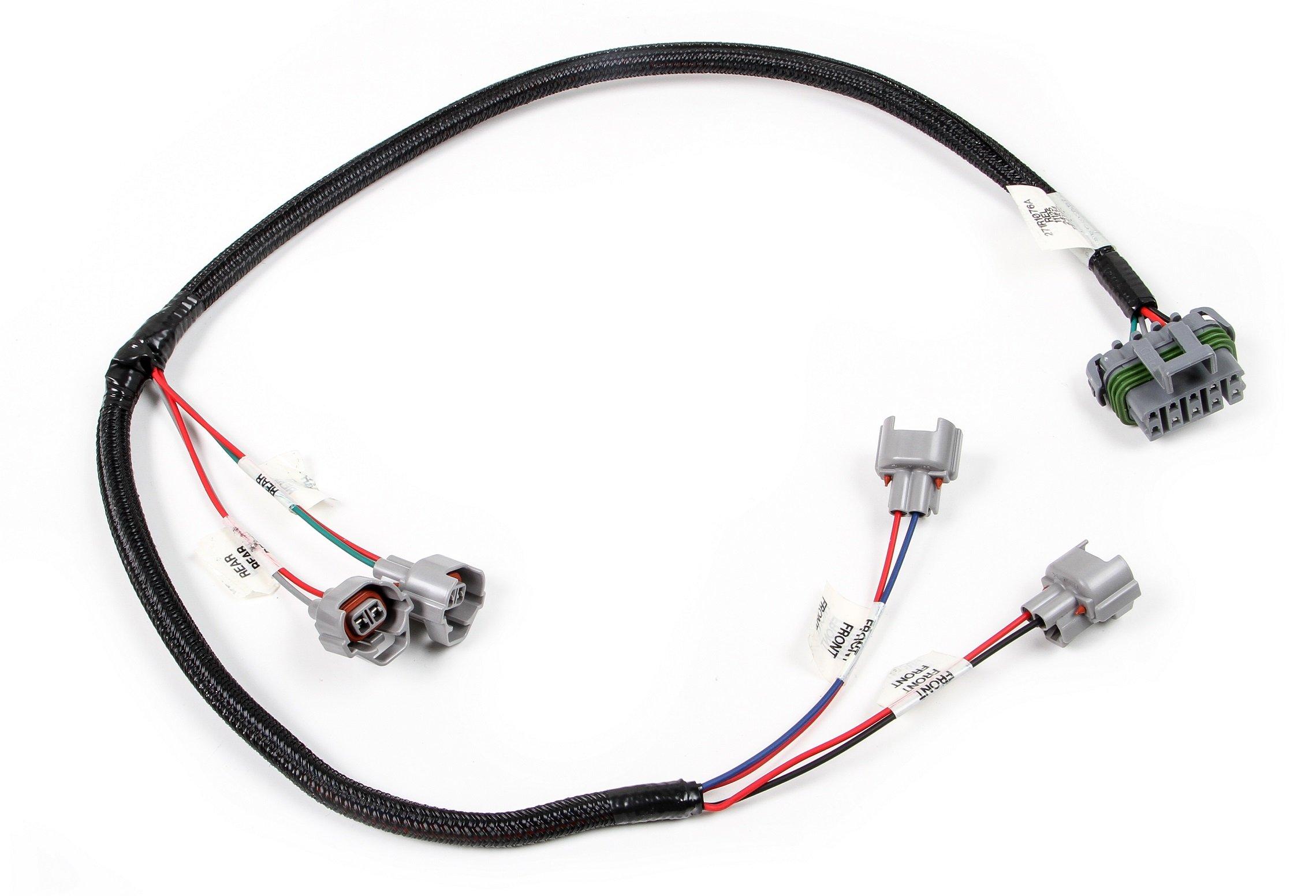 Holley Efi 558 440 Universal 4 Ev14 Cylinder Injector Harness