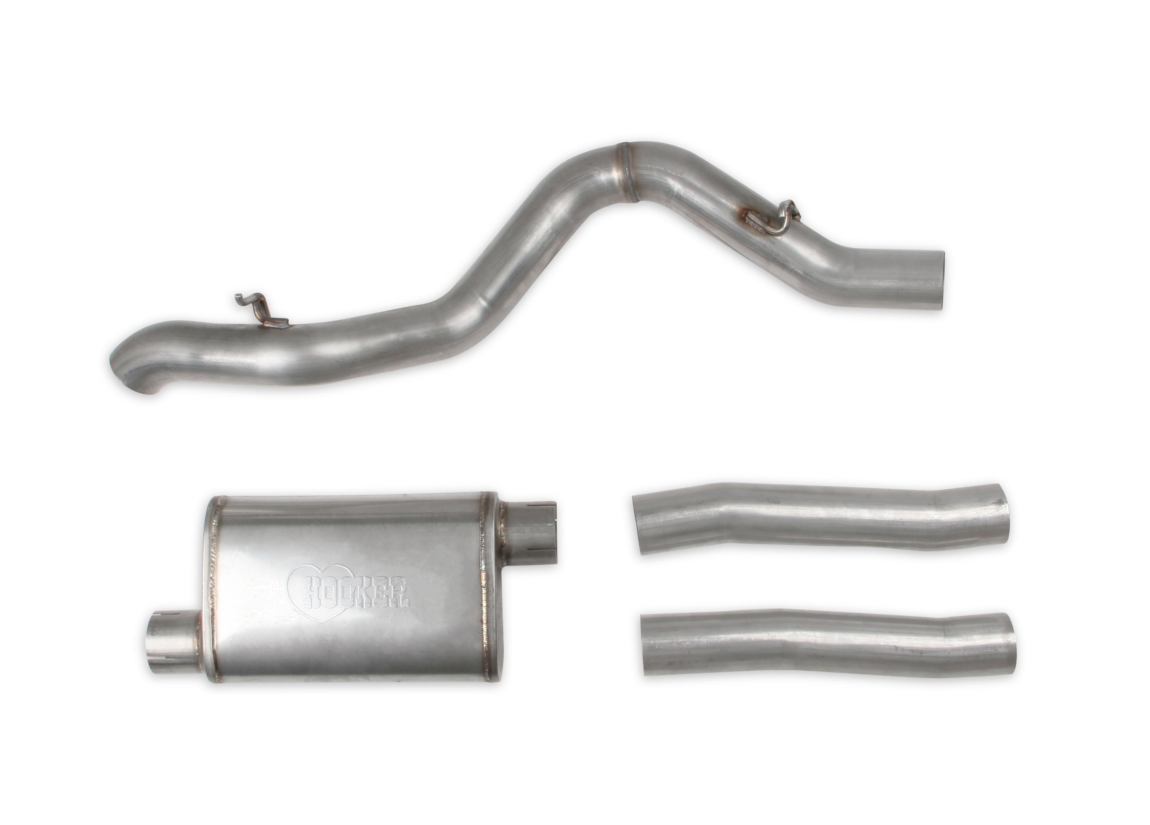 hooker blackheart engine swap exhaust system